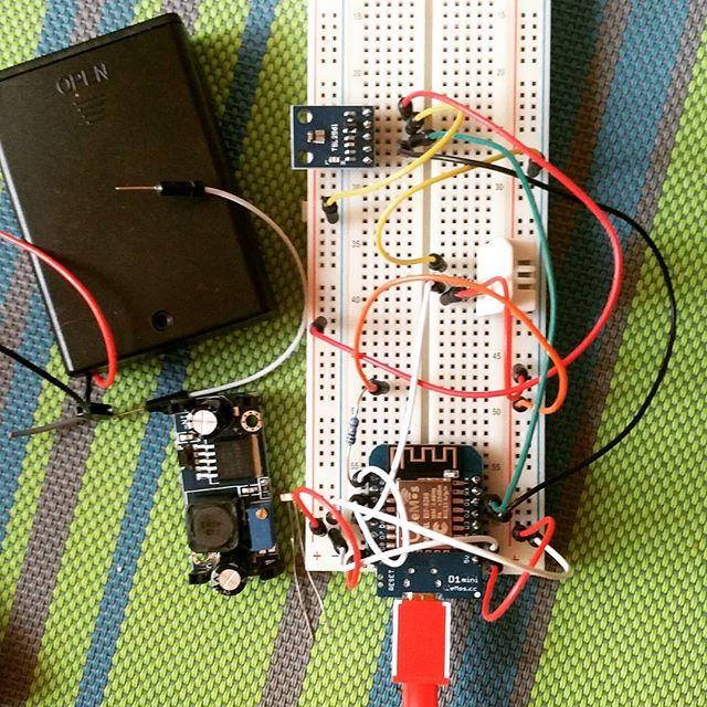 Prototyping #diy #sensor #iot #smarthome #homeassistant #mqtt
