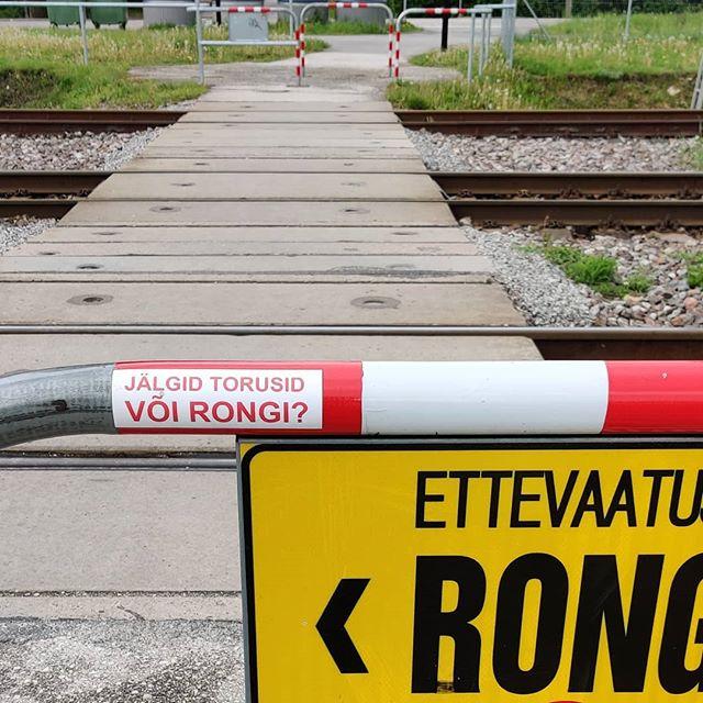 Miks raudteeülesõidul torusid pole? #evr  #halbdisain #raudtee