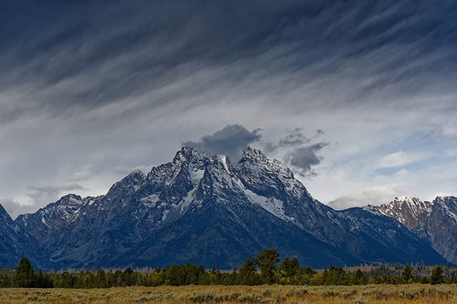 Mt. Moran #mountain #outdoors #almostsnowing